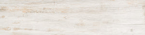 Cottage Wood Look Porcelain - White