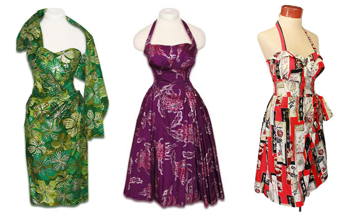 Alfred Shaheen dresses