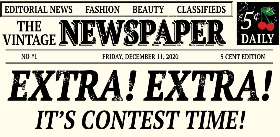 Extra Extra It's Cherry Cheer Contest Time