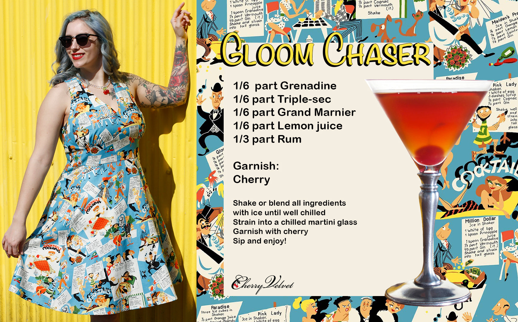 Kitschy Cocktails Gloom Chaser Recipe