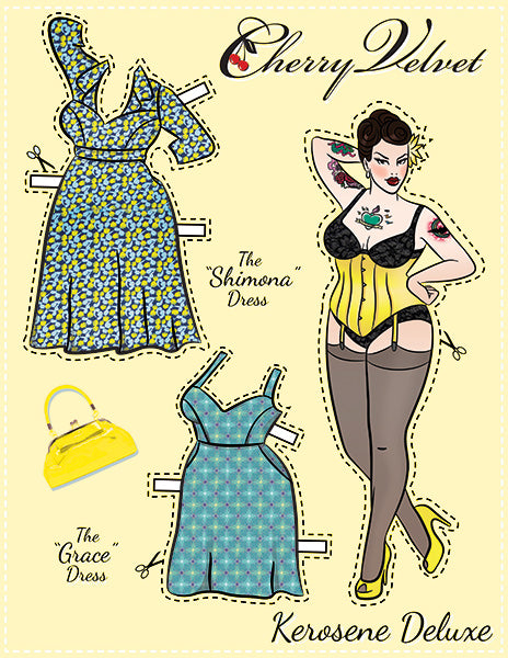 Kerosene Deluxe - Pin Up PaperDoll