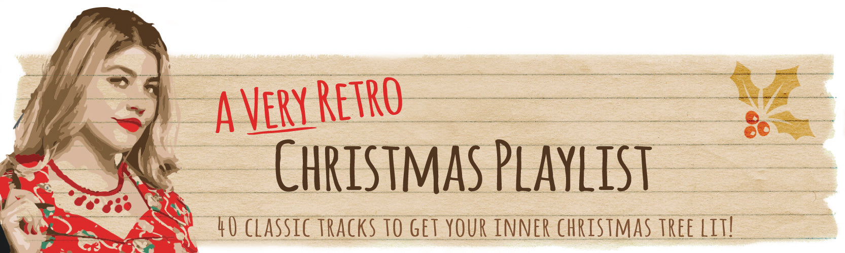 A Very Retro Christmas Playlist