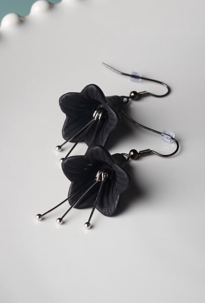 Dark Garden - Necklace and Earrings Set