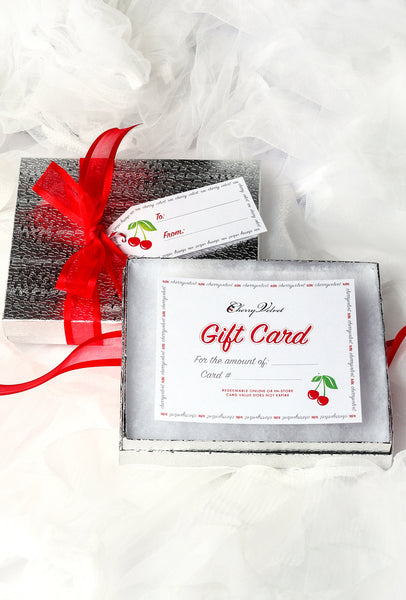 Boxed and Bowed Gift Card