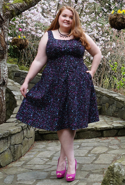 Isobel - Cosmic Confetti - Atomic Star Dress