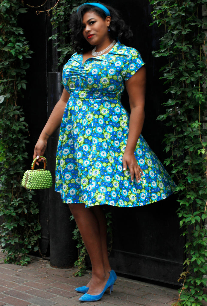 Paige Dress - Flower Power