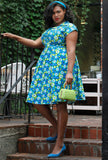 Paige Dress - Flower Power - Only M left!