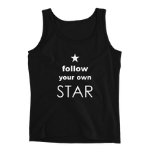 Load image into Gallery viewer, Follow Your Own Star Ladies' Tank