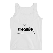 Load image into Gallery viewer, I am Enough Ladies' Tank