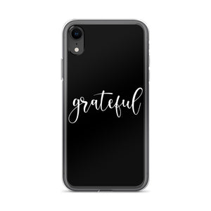 Grateful Black iPhone Case