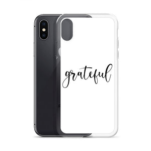 Grateful White iPhone Case