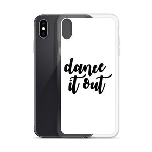 Dance It Out White iPhone Case