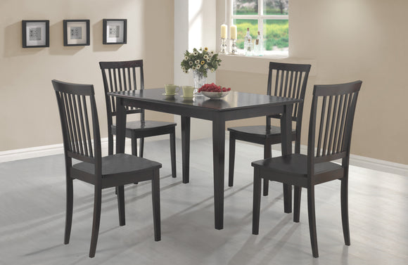 Casual Cappuccino Five-Piece Dinette Set