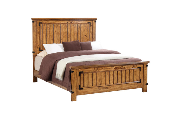 Rustic Honey Full Bed