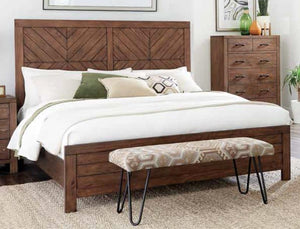 Mojave Brown King Bed