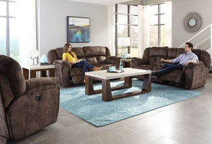 Carrington Dusk Reclining Living Room Set by Catnapper