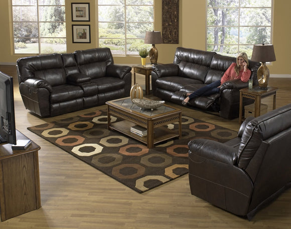 Nolan Godiva Reclining Living Room Set by Catnapper