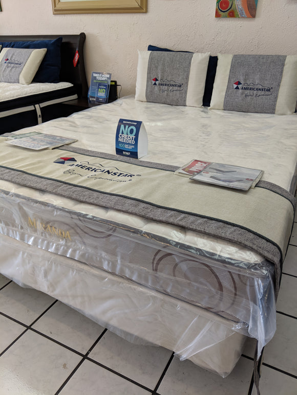 Miranda Orthopedic Plush Full Size Mattress