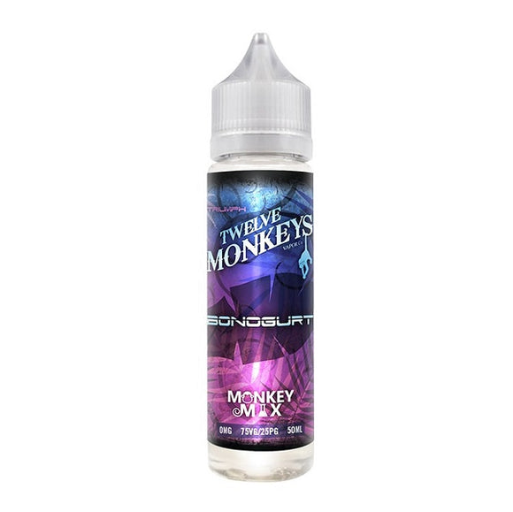 Twelve Monkeys - Bonogurt - 50ml - 00mg - Shortfill