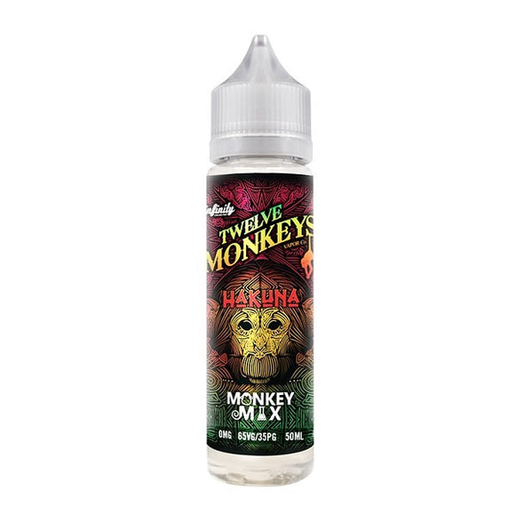 Twelve Monkeys  - Hakuna - 50ml - Shortfill