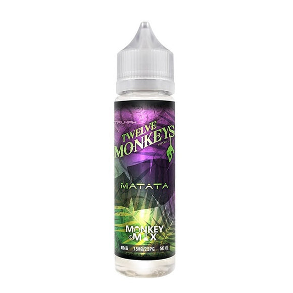 Twelve Monkeys - Matata - 50ml - 00mg - Shortfill