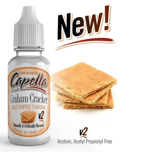 Capella - Graham Cracker V2 Concentrated Aroma