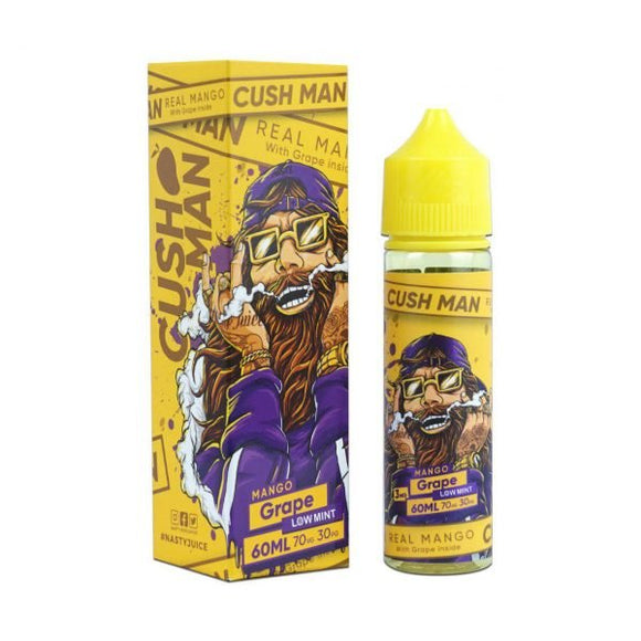 Nasty Juice Cush Man - Grape Mango Cush Man 00mg - 50ml - Shortfill