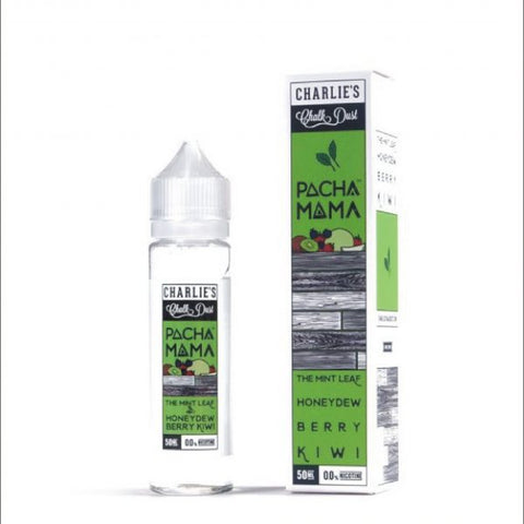 Charlie's Chalk Dust - Pachamama - The Mint Leaf Honeydew Berry Kiwi - 50ml - 00mg - BOOSTED IN AROMAS