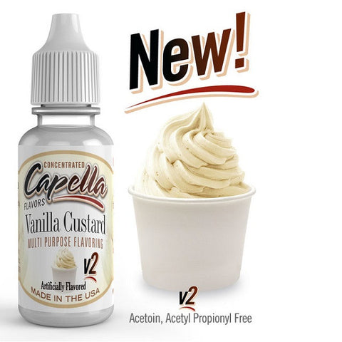 Capella - Vanille Custard V2 Concentrated Aroma
