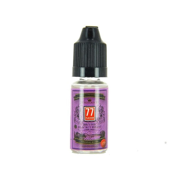 77 Flavor - British Blackcurrant Premix Concentrate 10ml