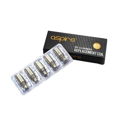5x Aspire BVC replacement coil