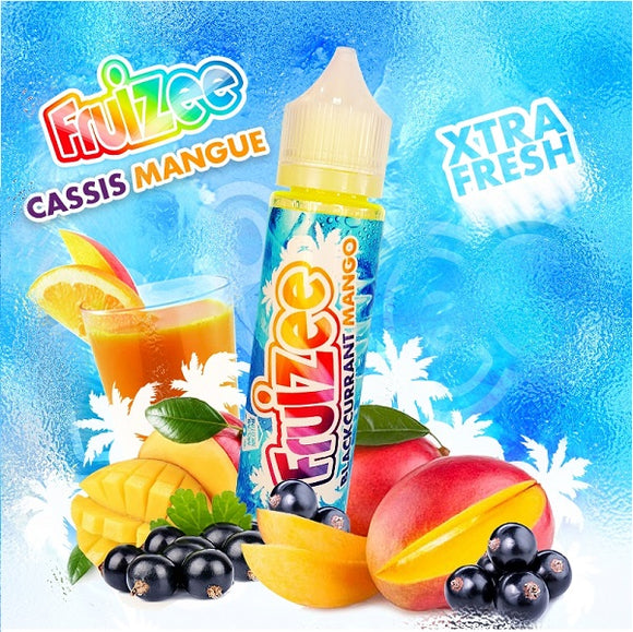 Fruizee Blackcurrant and Mango 50ml - 00mg - Shortfill