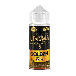 Cloud of Icarus - Cinema Act 3 - Golden Ticket 100ml - 00mg - Shortfill