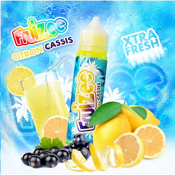 Fruizee - Lemon Blackcurrant 50ml - 00mg - Shortfill