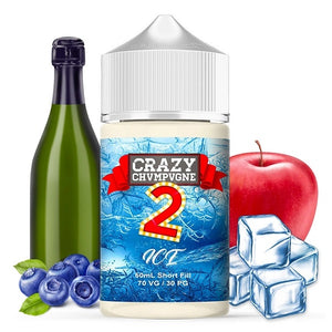 Mukk Mukk - Crazy Chvmpvgne V2 ICE 50ml - 00mg - Shortfill