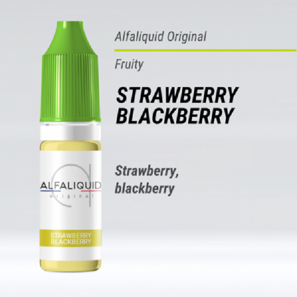 Alfaliquid - STRAWBERRY/BLACKBERRY
