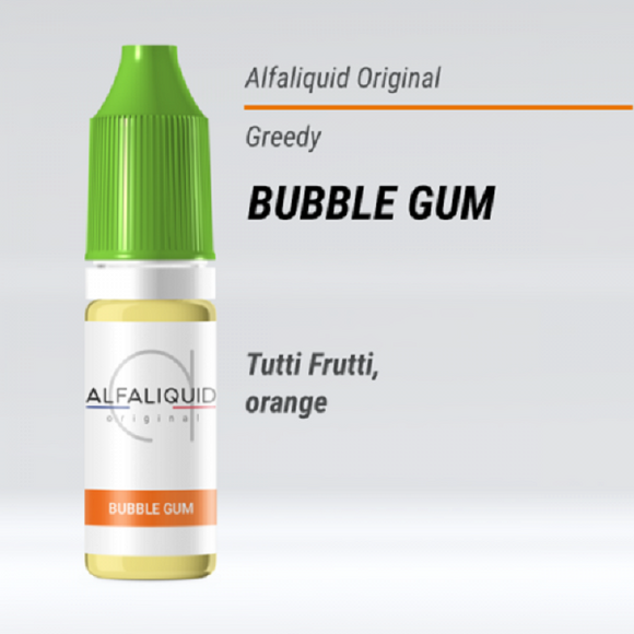 Alfaliquid - BUBBLE GUM