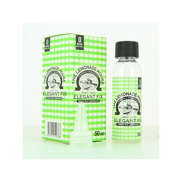 The Lemonade House - Elegant Fix 50ml - 00mg - BOOSTED IN AROMAS