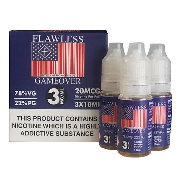 Flawless - GAME OVER  3x10ml