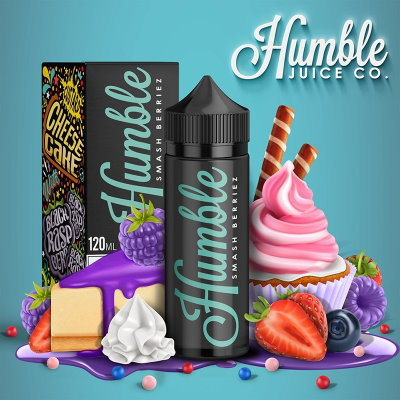 Humble - Smash Berriez 100ml - 00mg - Shortfill