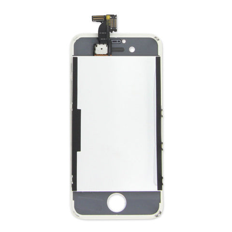 iPhone 4S Screen and LCD Assembly White Back Image