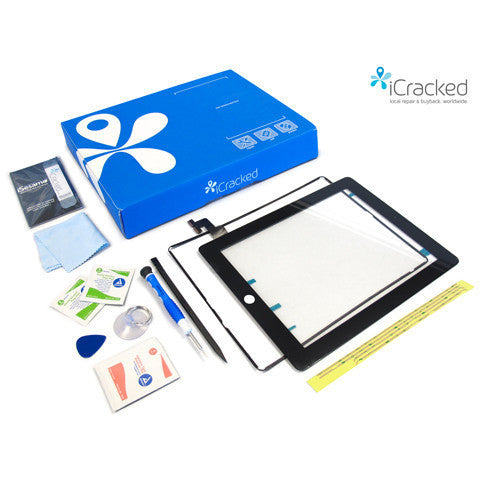 iPad 2 Screen Replacement DIY Repair Kit