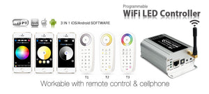 LTech WiFi-104  wireless WiFi 2.4GHz 4-in-1 RGB LED controller