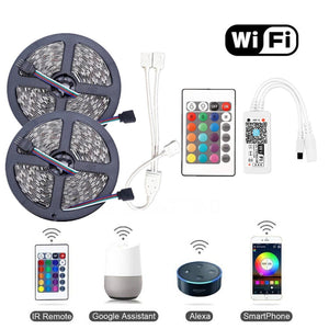 10m RGB Smart wifi LED Strip kit (12v) (IOT compatible)