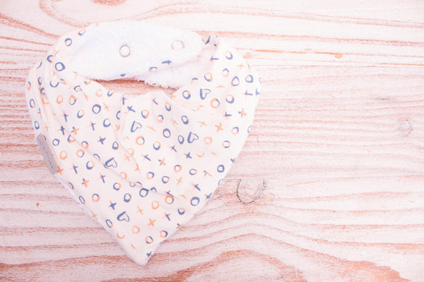 Bandana Bib - Lots of Love