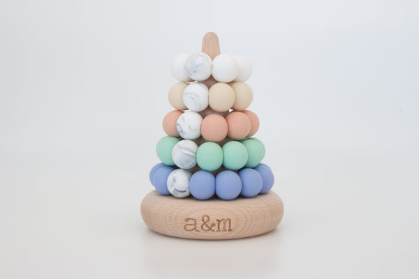 Ring Stacker - Pastel