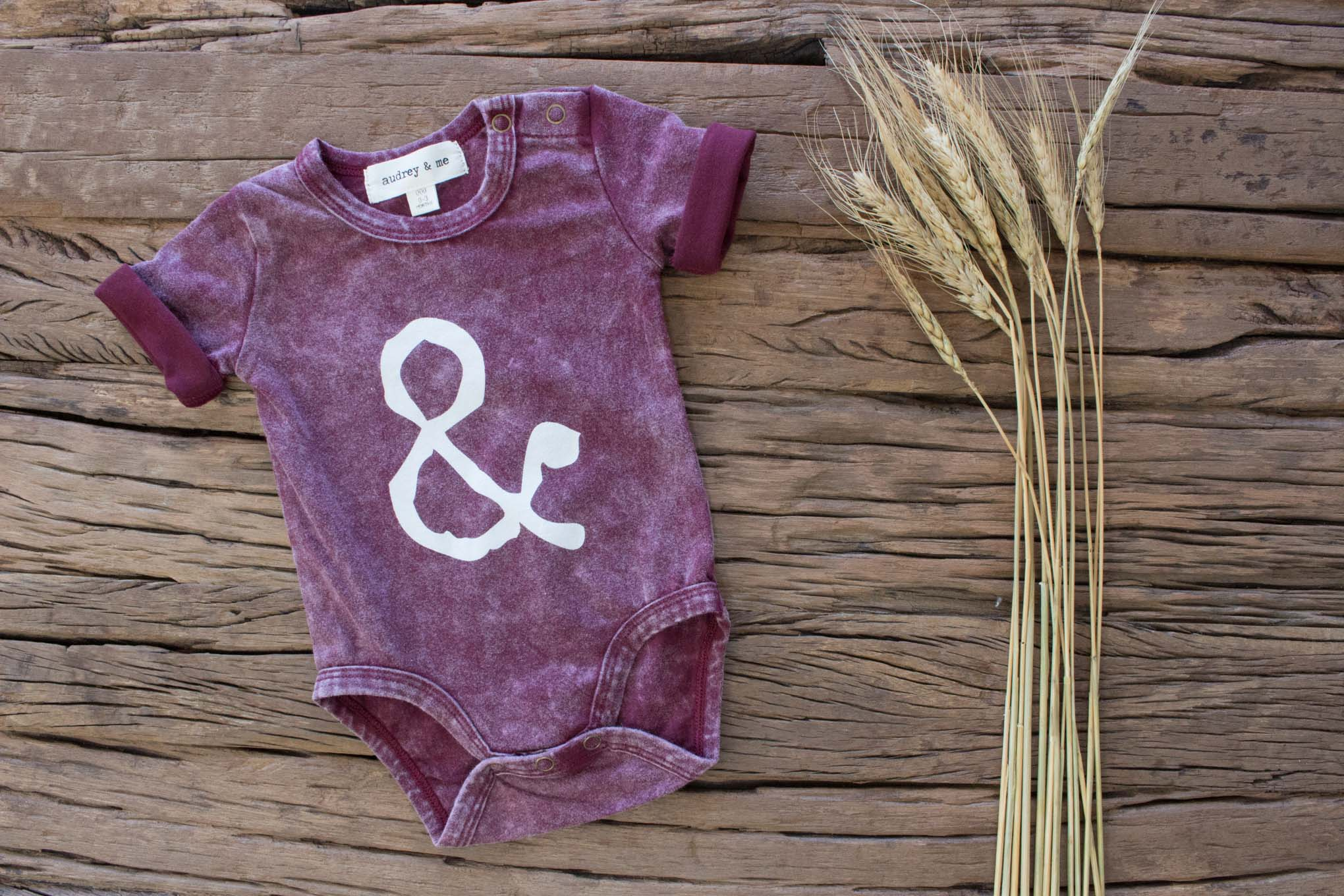 Signature A&M Onesie - Rust