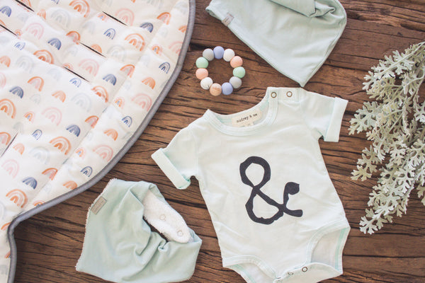 Signature A&M Onesie - Soft Sage