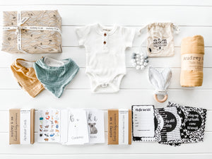 Baby Wrap Gift Box - Neutral