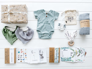 Baby Wrap Gift Box - Boy